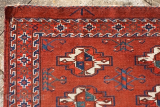 """""""Learn how to draw empty space."""" Robert Levers Yomud chuval, around 1850, wide range of saturated, fresh dyes ... lots of greens different shades of blues, reds, calm, spacious floating field with  ..."""