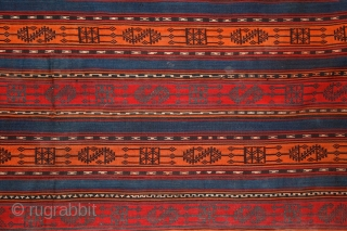 Kurdish Jajim, 19th century, Caucasus, 175x145 cm more pieces:http://rugrabbit.com/profile/5160