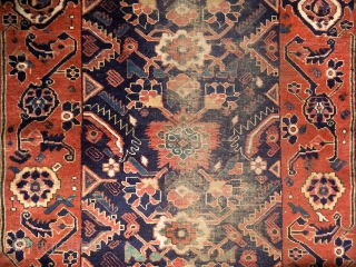 North-east persian rug (Ferdaus/Qaen/Birjand), 19th century. Rare type, especially with these oldest, arabesque borders... 165x100 cm. If anybody had or seen other example with the same border type (except the one in  ...