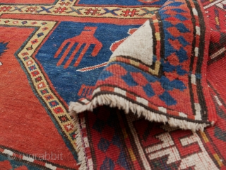 Kazak, late 19th/early 20th century, Shusha (Nagorno-Karabakh in the South Caucasus), the so-called 'namazlyk' - prayer rug - 225x180 cm  This is a pre-1920 Azeri massacre of the Armenian population in Shusha, or  ...