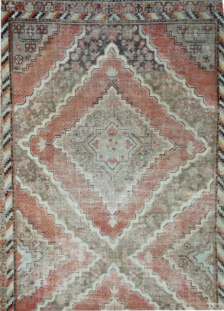 Large early 20th century Khotan/Yarkand rug Size 380x195cm in very good condition. Low pile but no damage Healthy fringes and selveges