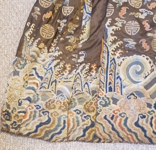 Tibetan Monastic Dance Robe