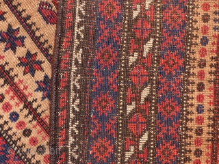 Antique beluch, 1900 JH, All Natural Colors. Size  158x80 cm