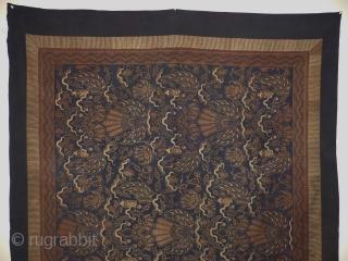 Indonesië Batik,around 1920,.size;. 217x163 cm