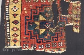 Antique East Anatolian Yastık Size.76x63cm