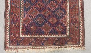 Antique Baluch Carpet Size.150x102cm