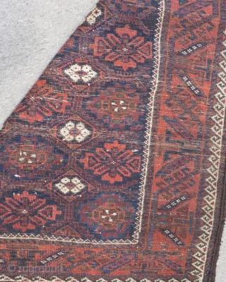 Antique Baluch Carpet Size.145x90cm
