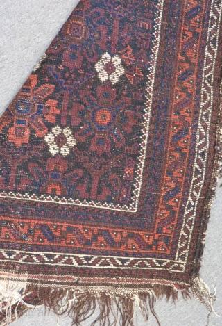 Antique Baluch Carpet Size.140x87cm
