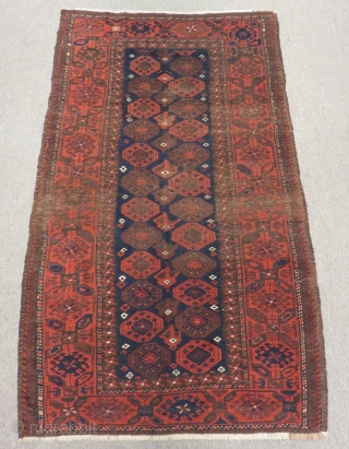 Antique Baluch Carpet Size.155x96cm
