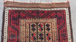Antique Baluch Carpet Size.140x84cm