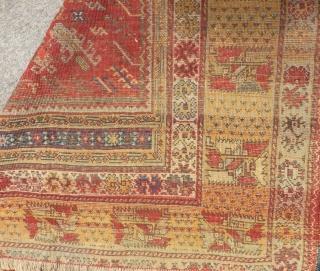 Second 19th C West Anatolian Selendi Prayer Rug Size.162x130 Cm