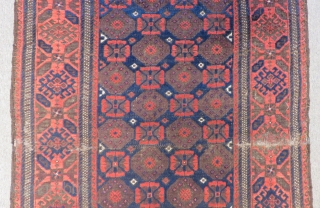 Antique Baluch Carpet Size.180x100cm
