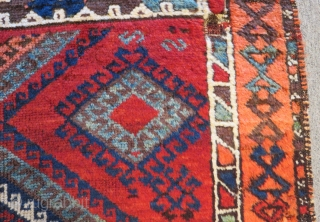 Antique East Anatolian Malatya Carpet Size.280x98cm