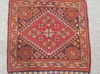 Antique Qashqai Bagface Size.53x53cm
