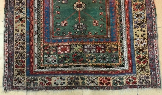 Antique Central Anatolian Mucur Carpet Size.162x118cm