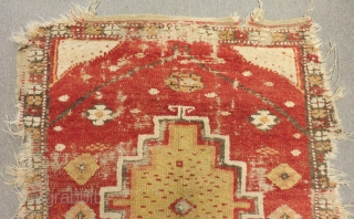 Antique Central Anatolian Obruk Tulu Size.135x120cm