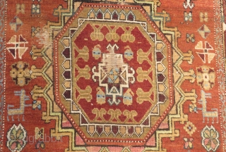 Antique Shahsavan Carpet Size.350x105cm