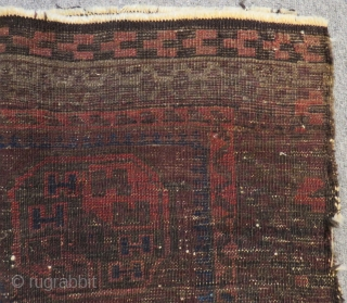 Antique Baluch Bagface Size.74x54cm