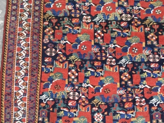 Antique khamse Carpet Size.262x162cm