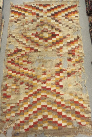 18th Century Central Anatolian Kapatocya Tülü Size.240x145cm