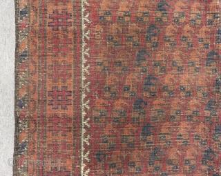 Antique Baluch Carpet Size.133x110cm
