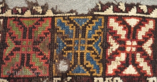 19th Century Central Anatolian Karaman Carpet Size.290x112cm