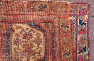 Antique Avshar Bag face Size.70x45 Cm