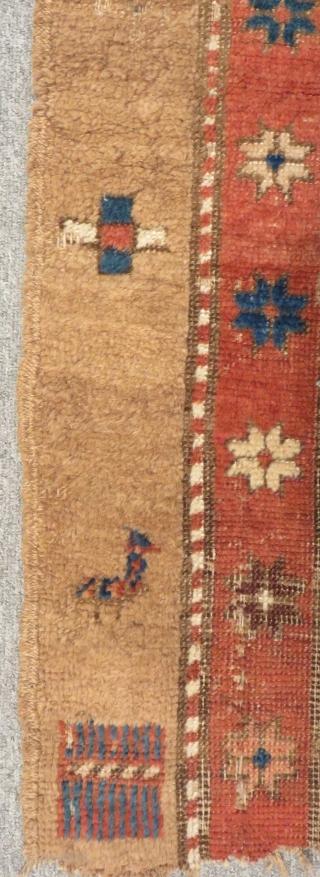 Antique Persian Serap Fragmen Size 176x102cm