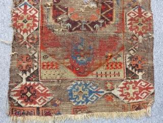 Antique Central Anatolian Karaman Yastık Size 83x53cm