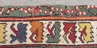 Antique West Anatolian Mihalic Prayer Carpet Siz113x95cm