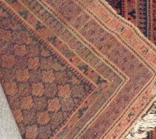Antigue Timurid Baluch Size.138x115cm