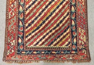 Antique Caucasian Sirvan Prayer Rug Size.140x66cm