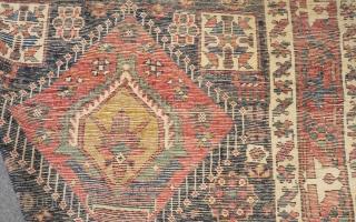 Antique Nort West Persian Rug Size.365x135cm