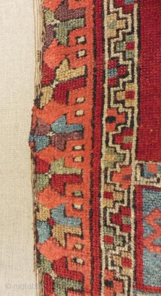 Antique East Anatolian Sivas Carpet Size.173x103cm