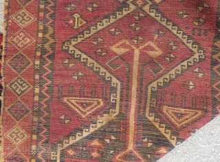 Antique East Anatolian Prayer Rug Size:140x66cm