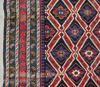 Antique Caucasian Shirvan Rug Size.325x150 Cm