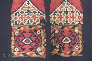 Antique Shahsavan Kilim Bag Size.80x42cm.80x42cm