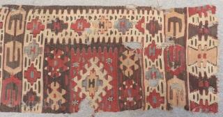 19th Century Anatolian Kilim Size.240x70cm