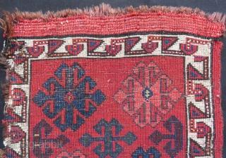 AntiqueKırgız Yastık Rug Size:85x43cm