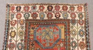 Antique Caucasian Calabert Rug Size.240x126cm
