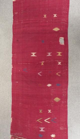 19th Century East Anatolian Kilim Size.405x92cm