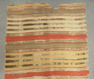 19th Century Kapatokya Striped Kilim Size.315x145cm