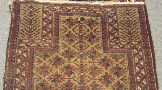 Antique Baluch Prayer Rug Size.160x80 Cm