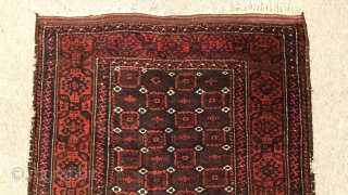 Old Baluch Carpet Size:180x106cm