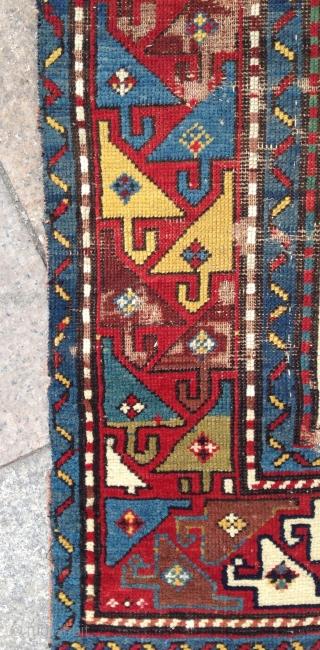 Old Shahsevan Carpet Size.113x205cm