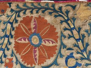 Rare 19th century Uzbek Suzani.
