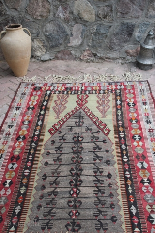 Turkish antique Obruk Kilim, vintage kilim rugs and most Obruk kilim rugs.