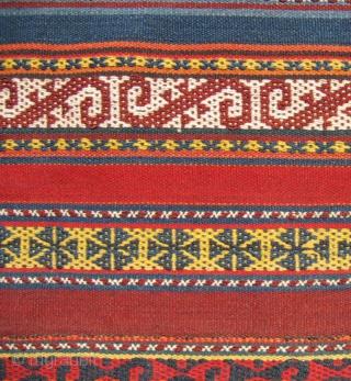 "Uzbek jajim, 5'6"" x 6'3"", perfect condition."