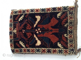 Afshar bagface around 1920h * excellent condition * size: 27 x38 cm