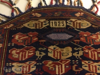 Rare Kuba horse saddle cover excellent condition